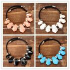 1pc Women's Jewelry Acrylic Freeform Bead Statement Collar Necklace Fashion