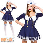 Hello Sailor Ladies Fancy Dress Navy Military Uniform Womens Adults Costume New