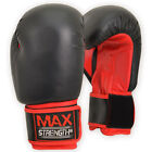Rex Leather Boxing Gloves Fight Punch Bag Training MMA UFC Muay Thai