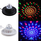 Crystal RGB LED Bands Disco KTV Party Rotating Magic Ball Stage Effect Light
