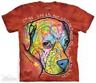 DOGS SPEAK ADULT T-SHIRT THE MOUNTAIN DEAN RUSSO