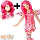 Deluxe Mia & Me Girls Fancy Dress TV Mystical Fairy Kids Childrens Costume + Wig