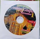 COUNTRY GOSPEL FAVORITES KARAOKE CDG CHARTBUSTER ESP499-02 CD+G MUSIC