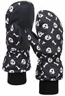 Boys 3M Thinsulate and Waterproof Skull Snow Mittens Ski Gloves