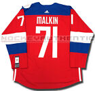 EVGENI MALKIN TEAM RUSSIA NEW PREMIER JERSEY ADIDAS 2016 WORLD CUP OF HOCKEY