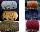 *FREE SHIP* Soft 3 Ply *6 Color Choice* 100% Cotton Cone Yarn Knit Crochet Weave