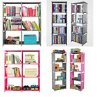 Creative Cube Bookcase Storage Shelf Home Display Shelves  Plastic Cabinet Unit