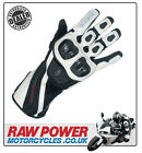 Richa Warrior Motorcycle Motorbike Glove - White