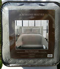 RAYMOND WAITES CAMERON Coverlet Set Quilted GREY - CHOOSE...