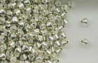 925 Sterling Silver 5mm Bicone Spacer Beads, Choice of Lot Size & Price