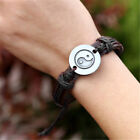 NEW Mens Wrap Leather Charm Infinity Bracelet Women Multilayer Chain Jewelry HF