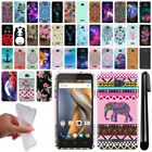 For Coolpad 3622A Art Design TPU Soft SILICONE Rubber Case Cover + Pen