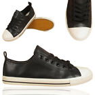 LADIES TRAINER CASUAL FAUX LEATHER SNEAKERS SPORTS SCHOOL WOMENS GIRLS SHOES UK