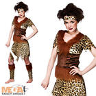 Cavewoman Ladies Fancy Dress Flintstones Womens Tarzan Jane Cave Girl Costume