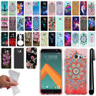 For HTC 10 One M10 Sprint Art Design TPU Soft SILICONE Rubber Case Cover + Pen