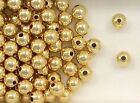 14K Gold Filled 6mm Seamless Round Spacer Beads, Choice of Lot Size & Price