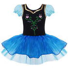 Toddler Girls Flower Gymnastic Leotard Ballet Tutu Dress Princess Dancewear 2-8Y