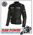 Richa LADIES Phantom Motorcycle Motorbike Jacket - Black