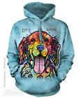 DOG IS LOVE ADULT HOODIE SWEATSHIRT THE MOUNTAIN