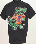 Vintage 1993 U Florida GATORS Apex One T-Shirt NCAA 2-Side Print BLACK NWT NOS