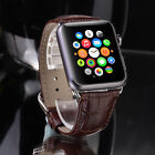 Hot Sale Men Leather Buckle Wrist Watch Band Strap Belt for iWatch Apple Watch