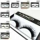 10 Pairs Long Soft Cross Natural Thick False Fake Eyelashes Eye Lash Makeup 04C