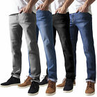 Urban Classics Stretch Fit Jeans Herren Hose Slim Denim Röhrenjeans TB1437