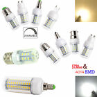 7W 9W 12W 15W Dimmable E12 E14 E27 GU10 G9 B22 LED Corn Bulb SMD 5730 4014 Light