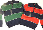 mens shirts izod casual long sleeve pull over mid zipper comfortable fit