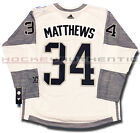 AUSTON MATTHEWS TEAM NORTH AMERICA JERSEY WHITE ADIDAS 2016 WORLD CUP OF HOCKEY