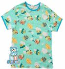 Adult Baby Airplane Teddy SHIRT cotton snap shoulder*Big Tots ExclusiveL*