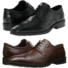 Ecco Mens Illinois Wingtip Brogue Lace Up Business Casual Oxfords Dress Shoes
