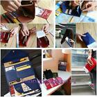 Portable Travel PU Leather Passport Holder Ticket Cover Wallet ID Document Bags