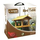TREE HANGING WOODN BIRD TABLE FOR WILD B...