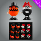 Wind Up Pumpkin Pirate Skeleton - Trick or Treat Halloween Gift Party
