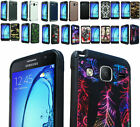 2Layer Slip-free Rubber Shock Case Cover For Samsung Galaxy On5 SM-G550 Phone