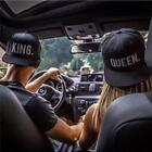 Chic Men Women Queen King Basdeball Cap Snapback Hat Trucker Flat Lovers Hats LA