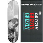 "PRIMITIVE Skateboard RAIDERS Deck NOTORIOUS B.I.G 80"" with GRIZZLY GRIPTAPE"