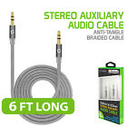 Cellet Premium 3.5mm Anti-Tangle Braided Aux. Audio Cable