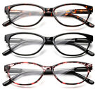 Reader Fashion Rectangular Cat Eyed Frame Reading Glasses Temple Design