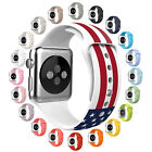Macaroon Color L Small Replacement Silicon Band Strap For Apple Watch Series 2 1