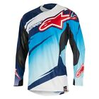 Alpinestars Techstar Venom Motocross Jersey Blue White Navy NEW RRP £44.99