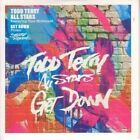 TODD TERRY ALL STARS Get Down CD 5 Track Mousse T Radio Edit Promo In Stickered