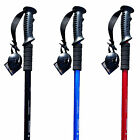 SALE Lightweight Aluminium Antishock Outdoor Trekking Pole Travel Walking Hiking