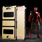 R-JUST Iron Man Metal Ultrathin Stainless Steel Cover For Apple iPhone7 7Plus