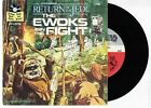 Star Wars The Ewoks Join The Fight Book and Record (1983 Lucasfilm) #460R NM