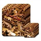 Wooden Safari Animals Set of 4 Coasters & Placemats
