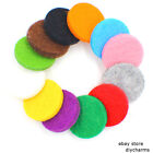 Colorful Aromatherapy Diffuser Refill Pad For 30mm Essential Oil Diffuser Locket