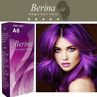 Berina A6 VIOLET Professional Permanent Hair Color Cream Dye Style Unisex