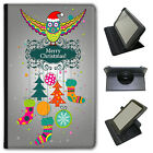 Merry Christmas Christmas Decorations Universal Leather Case For Linx Tablets